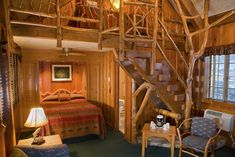 One Room Cottage with Fireplace and Loft - Branson Missouri Resorts | Big Cedar | Branson Missouri Vacation Lodging