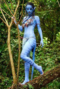 Neytiri naked avatar