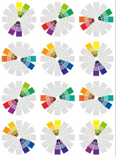 Color Harmony, Harmony Art, Design Theory, Color Wheel Design, Double Complementary Colors, Color Theory, Colours That Go Together, Art Lessons, Painting Lessons