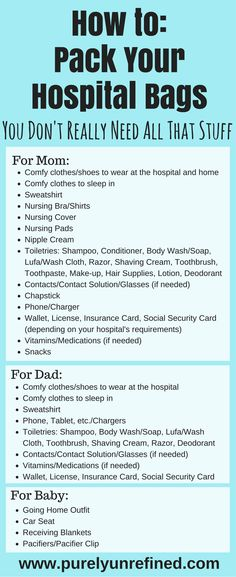 How to Pack Your Hospital Bags | You Don't Really Need All That Stuff | Minimize Your Luggage