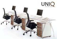 Uniq Series Workstations   Affordable Office Furniture   UNIQ SERIES