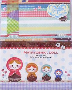 Q-Lia Matryoshka Doll (Russian Nesting Doll) Letter Set (70205)~KAWAII!!