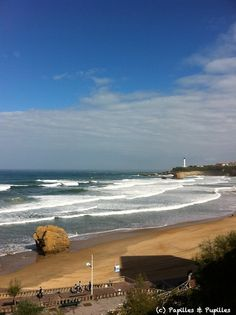 La plage - Biarritz My home for 3 months :) was here today just walking and browsing.