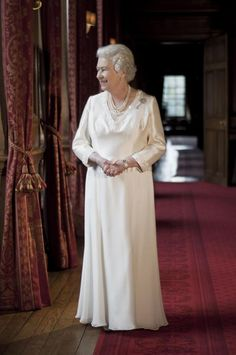 An undated Royal Collection handout photo of a portrait of Britain's Queen Elizabeth II made available on Wednesday, March 16, 2011. The...
