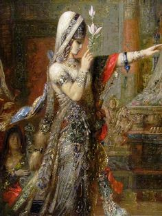 Gustave Moreau (detail) Salomé Dancing before Herod, 1876. Oil on canvas. (1826-1898) Hammer Museum