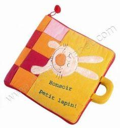 """Lilliputiens Lapin Petit Bonsoir Livre. M.a """"Jef à le ferme"""". 49€"""