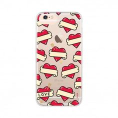 iPlate Hearts Cover for iPhone 8 | 7 | 6 #FLAVR