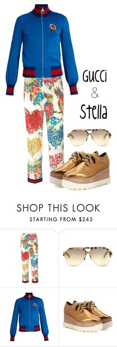 """""""Spring looks"""" by ana-aleta ❤ liked on Polyvore featuring Gucci and STELLA McCARTNEY"""