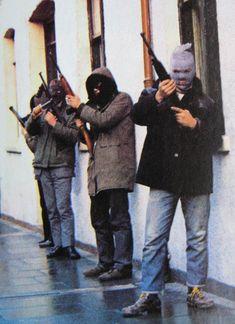 The Troubles, Ireland. Derry brigade 1980s.