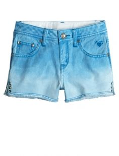 Tropical Teal shorts from Justice