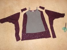 This whole blog has ideas for refashioning old clothes that are too big too small or just plain drab! Pin now read later!