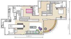 Apartamento de 122m2 13 - Planta do apartamento