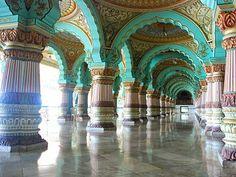 Darbaar Hall of Mysore Palace