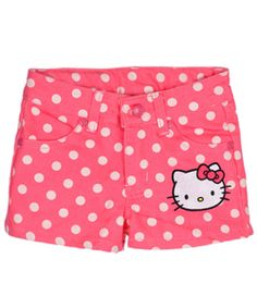 "Hello Kitty ""Sun Dotty"" Short Shorts (Sizes 2T – 4T) $12.99"
