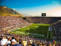 LaVell Edwards Stadium....Most beautiful view in College Football!