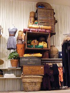 Anthropologie Display-stack for the front window