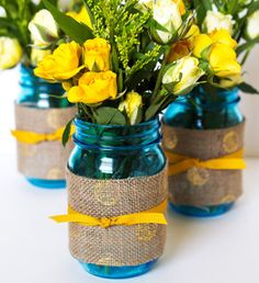 All I can say is WOW. Summer Windchimes Mason Jar Centerpiece