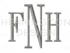 Fisher monogram