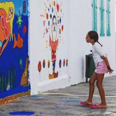 Pintura mural con niñ@s Ui Design, Painting, Art, Mural Painting, Creativity, Art Background, Painting Art, Kunst, Paintings