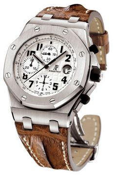 My own a sailboat sailing watch - Audemars Piguet Royal Oak Offshore Chronograph $19,789.00