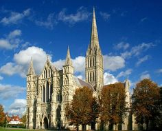 On the places to visit before I die. Salisbury Cathedral Wiltshire Autumn