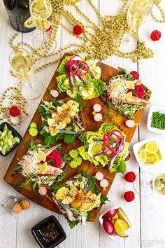 Smørrebrød / Dánske obložené chlebíčky Pesto, Empanadas, Chorizo, Enchiladas, Mango Tree, Raw Vegan Recipes, Russian Recipes, Burritos, Guacamole