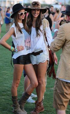 Miranda Kerr & Alessandra Ambrosio | via Tumblr on @Demi Boggs breen.com - http://whrt.it/XM1nV9