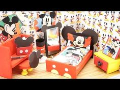 6 DIY Panda Miniatures - Tablet Case, Pencil Case, Notebooks, Slippers, Soap Dispensers, & Tissue - YouTube
