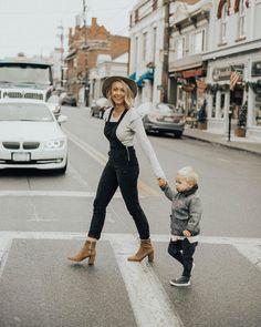 boy mom / style / overalls