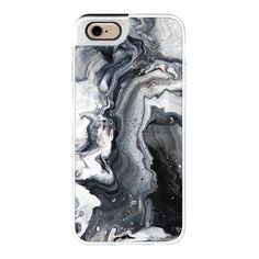iPhone 6 Plus/6/5/5s/5c Metaluxe Case - Black and white marble (205 RON) ❤ liked on Polyvore featuring accessories, tech accessories, phones, phone cases, cases, fillers, iphone case, black and white iphone case, apple iphone cases и iphone cover case