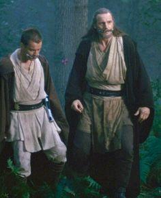 Qui-Gon+Jinn | Qui Gon Jinn and Obi Wan Kenobi - Qui Gon Jinn and Obi Wan Kenobi ...