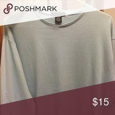 Long sleeve Kenneth Cole shirt Light blue long sleeve XL Kenneth Cole Shirts Tees - Long Sleeve