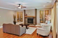 Fireplace custom-homes