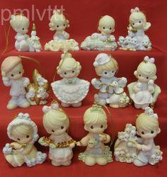 Precious Moments 12 Days of Christmas Complete Set | eBay