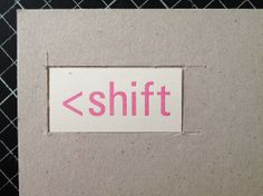 insetting labels into book board by Sarah Bryant