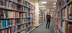 McConnell Library offers Radford students access to hundreds of thousands of academic resources.