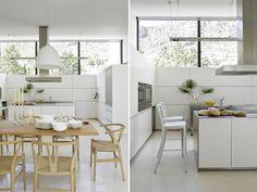 Belleza al cubo | Westwing Home & Living Magazine Comedor sillas lámpara taburete