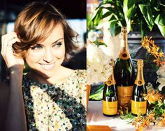 The Glamourai and the widow (Veuve Clicquot)