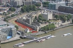 Stock photo of Tower of London from The Shard by Franklin Graham - Pictures of England