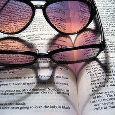 Glasses illusion