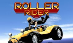 Roller Rider challenges you to race hundreds of feet above the ground, screaming up and down winding narrow tracks, and blasting past your opponents. Dare to take your hands of the wheel and wave in the air for extra turbo! 100 Challenges featuring Race, Versus, Time Trial, No Walls and Pick-Up Events. Multiple character opponents and upgrades. 9 Varied and dangerous tracks to master. Wave, Challenges, Racing, Hands, Events, Character, Happenings, Lace, Waves