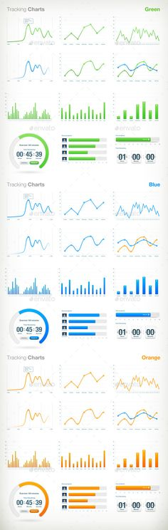 Infographic elements mega bundle by VectorAN on @creativemarket
