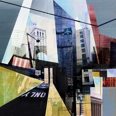 NYC Revisited by artist Jon Measures at Whawi.com