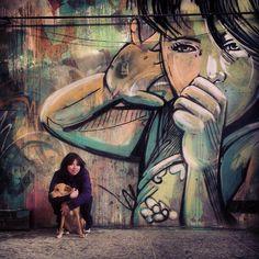 Alice Pasquini ~  Metropoliz- Rome