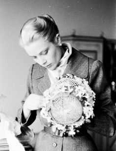 Grace Kelly photographed by Lisa Larsen for LIFE Magazine