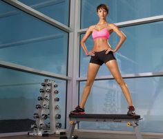 Slim in the Gym: 8 Ways to Use a Weight Bench  Gymgoers, you'll never aimlessly wander the weight room again with these ab-firming, body-beautifying moves. (Prefer fresh air to fitness clubs? Try our outdoor bench workout, too!