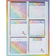 Unicorn Sticky Notes on Magnetic Board Sticky Notes, Stationary, Magnets, Unicorn, It Works, Boards, Bullet Journal, Planks, A Unicorn