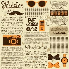 Hipster Seamless Vintage Newspaper