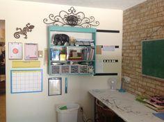 Homeschool learning area, homeschool classroom, homeschooling