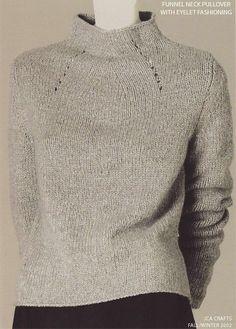 JCA Crafts - FW2002/09 - Full Fashioned Pullover